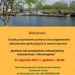Szkolenie - infrastruktura turystyczna i rekreacyjna