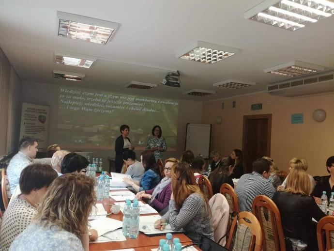LGD Czarnoziem na Soli -  Szkolenie : nabycie kompetencji z monitorowania i ewaluacji LSR przez pracowników biura LGD.