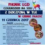 Piknik LGD Czarnoziem na Soli z dziczyzną w tle w Gminie Pakość - ZAPRASZAMY !