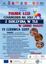 LGD Czarnoziem na Soli -  Piknik LGD Czarnoziem na Soli z dziczyzną w tle w Gminie Pakość - ZAPRASZAMY !