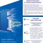 """Spotkanie w Lokalnym Punkcie Informacyjnym Funduszy Europejskich w Inowrocławiu """"Szansa na powrót do pracy"""""""