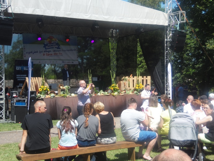 LGD Czarnoziem na Soli - Kujawskie Nowalijki - w Kruszwicy podpowiadali jak żyć długo, zdrowo i szczęśliwie !