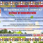 Jarmark Gniewkowski - 26.08.2017 Zapraszamy !