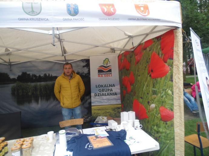 LGD Czarnoziem na Soli - Dożynki Powiatowo - Gminne 2017 w Dąbrowie Biskupiej - relacja.