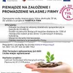 """""""Fabryka firm"""" Dotacje na założenie działalności gospodarczej!"""
