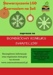 """LGD Czarnoziem na Soli - """"BOMB(K)OWY KONKURS ŚWIĄTECZNY"""""""