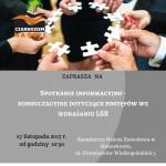 Spotkanie informacyjne na temat postępów we wdrażaniu LSR w ZSZ w Gniewkowie