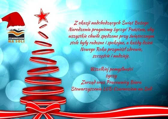 LGD Czarnoziem na Soli - Życzenia Świąteczne