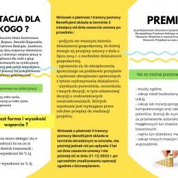 LGD Czarnoziem na Soli - Kolejne nabory wniosków na podejmowanie działalności gospodarczej od 9 lutego 2018 roku !!