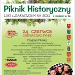 Piknik Historyczny LGD Czarnoziem na Soli  z ziołami w tle w Gminie Gniewkowo ! ZAPRASZAMY!!