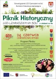 LGD Czarnoziem na Soli - Piknik Historyczny LGD Czarnoziem na Soli  z ziołami w tle w Gminie Gniewkowo ! ZAPRASZAMY!!