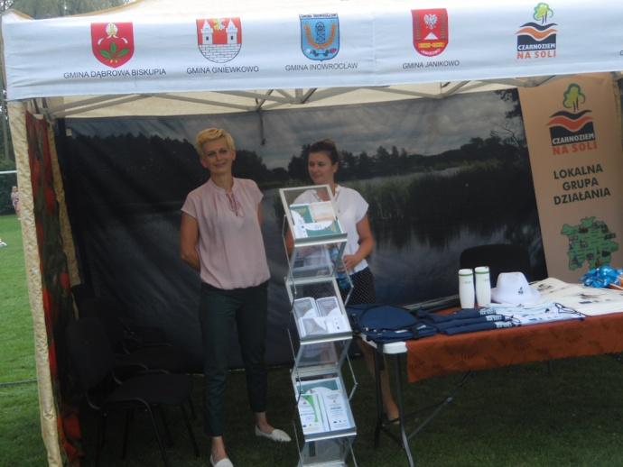 LGD Czarnoziem na Soli - LGD na Święcie Ludowym w Janikowie - fotorelacja