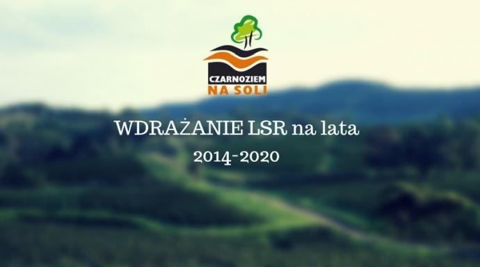 LGD Czarnoziem na Soli - Wdrażanie LSR na lata 2014-2020