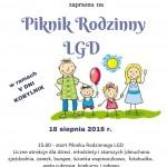 Piknik Rodzinny LGD - ZAPRASZAMY !!