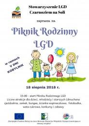 LGD Czarnoziem na Soli - Piknik Rodzinny LGD - ZAPRASZAMY !!