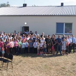 LGD Czarnoziem na Soli - Nasze realizacje ! LGD na otwarciu świetlicy wiejskiej w Ołdrzychowie