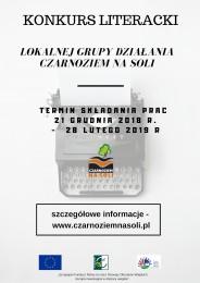 LGD Czarnoziem na Soli - Konkurs Literacki z LGD !