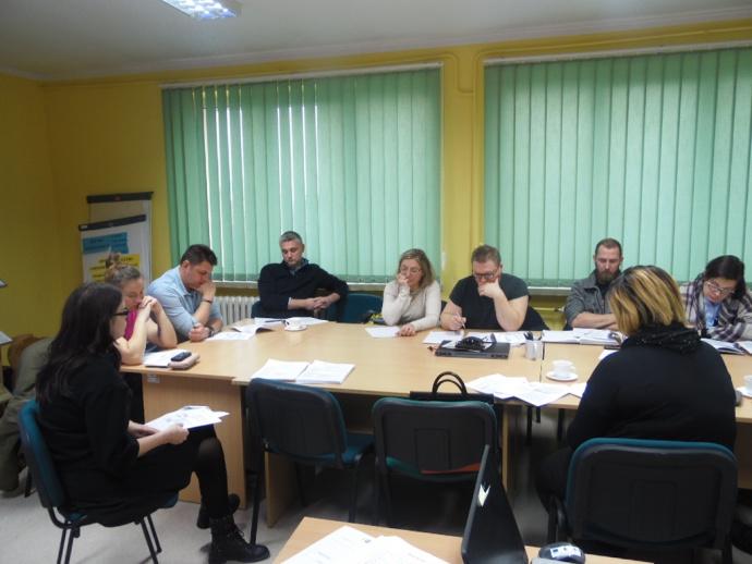 LGD Czarnoziem na Soli - EFS - Szkolenia dla beneficjentów 7, 8 stycznia 2019 r.