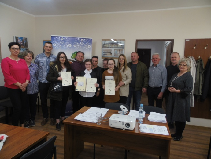 LGD Czarnoziem na Soli - Wręczenie nagród w konkursie Literackim