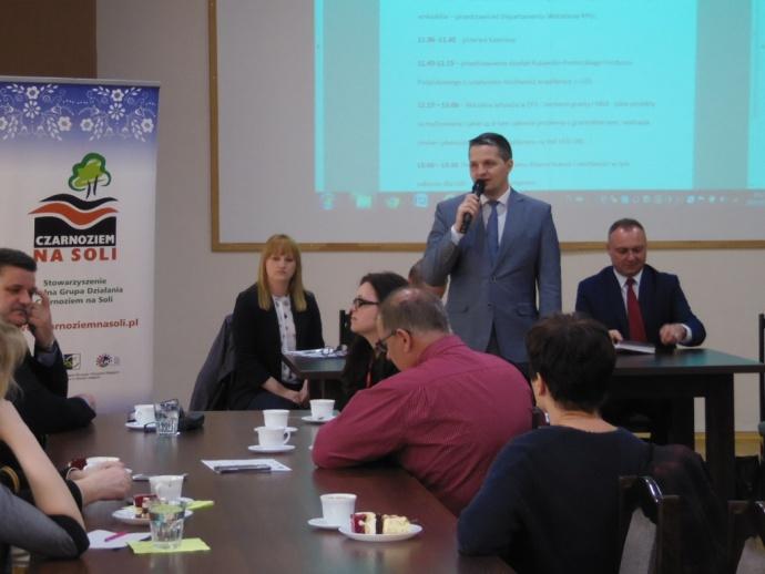 LGD Czarnoziem na Soli - Spotkanie informacyjno - konsultacyjne - CIS Łojewo