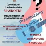 """Przedłużenie konkursu """"Maskotka Stowarzyszenia LGD Czarnoziem na Soli""""."""