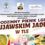 Konkursy podczas Rodzinnego Pikniku z Kujawskim Jadłem w tle - kulinarny, najatrakcyjniejsze stoisko, międzygminne zawody sportowe.