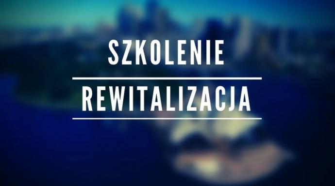 LGD Czarnoziem na Soli - Szkolenie dla wnioskodawców w zakresie Rewitalizacji wsi - 23 lipca