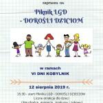 Piknik LGD - 12 sierpnia - Kobylniki - zapraszamy !! - LGD Czarnoziem na Soli