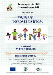 LGD Czarnoziem na Soli - Piknik LGD - 12 sierpnia - Kobylniki - zapraszamy !!