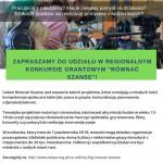 """""""Równać Szanse"""" - konkurs - LGD Czarnoziem na Soli"""