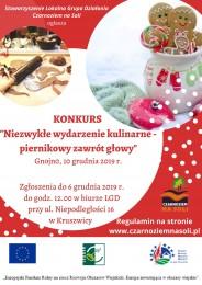 """LGD Czarnoziem na Soli - """"Niezwykłe wydarzenie kulinarne – piernikowy zawrót głowy"""""""