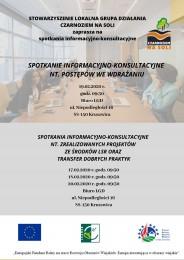 LGD Czarnoziem na Soli - Cykl spotkań informacyjno-konsultacyjnych!