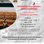 Spotkanie dla przedsiębiorców z powiatu inowrocławskiego na wsparcie firm