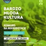 Bardzo Młoda Kultura Kujawsko-Pomorskie 2020 - mikrodotacje