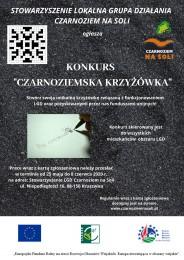 """LGD Czarnoziem na Soli - Konkurs dla mieszkańców obszaru LSR pn.""""CZARNOZIEMSKA KRZYŻÓWKA"""""""