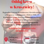 Kolejna akcja krwiodawstwa w Kruszwicy!