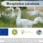 """Wspólnie z Fundacją Hodowców Polskiej Białej Gęsi zapraszamy na kolejne szkolenie z cykl """"Przyzagrodowy chów gęsi sposobem na rozwój przedsiębiorczości na obszarach wiejskich"""""""