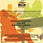 Zapraszamy na szkolenie i spotkanie informacyjno-konsultacyjne