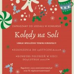 """Konkurs """"Kolędy na Soli"""" przedłużony do 29 stycznia 2021 roku!"""
