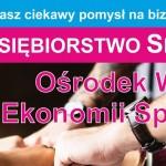 Ośrodek Wsparcia Ekonomii Społecznej II edycja - LGD Czarnoziem na Soli
