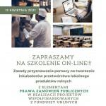Zapraszamy na szkolenie z zasad przyznawania pomocy na tworzenie inkubatorów przetwórstwa lokalnego produktów rolnych! - LGD Czarnoziem na Soli