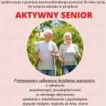 """Projekt """"Aktywny senior"""""""